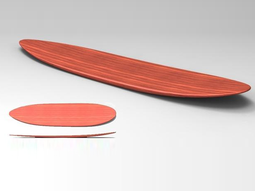 冲浪板透明胶